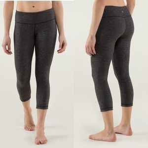 Lululemon Wee Stripe Crop Leggings